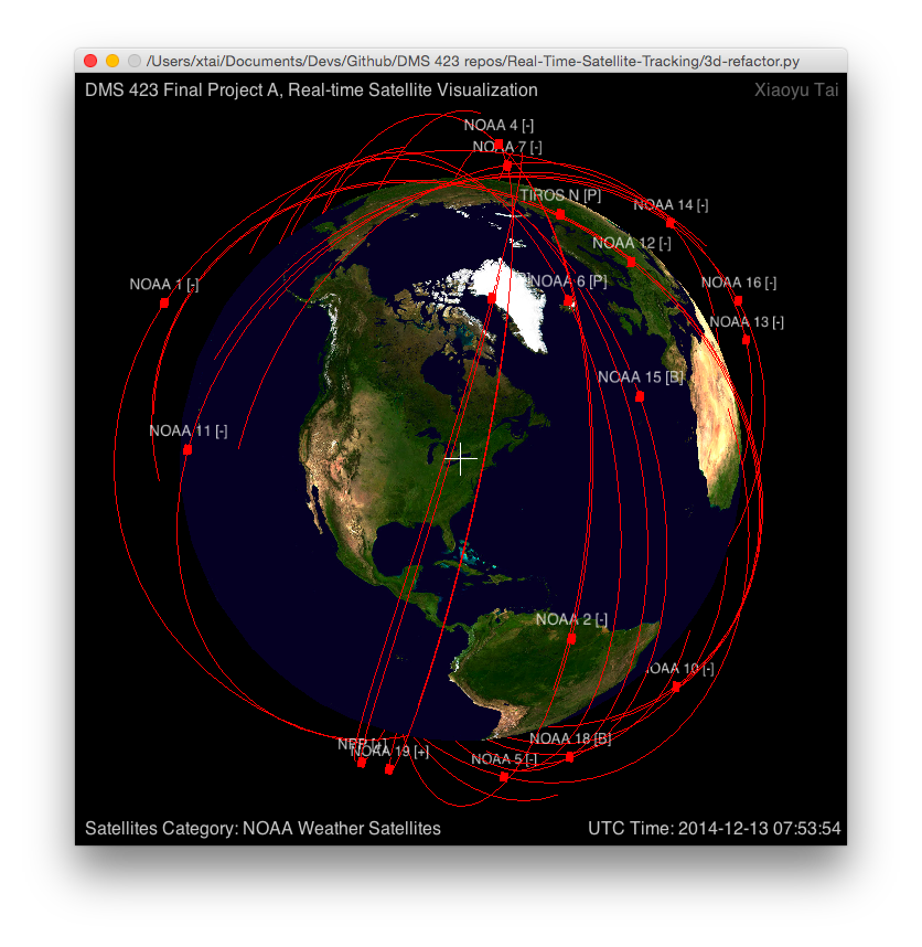3D - NOAA satellites 2
